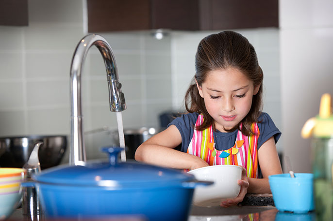 Age appropriate chores for 7-10 year olds